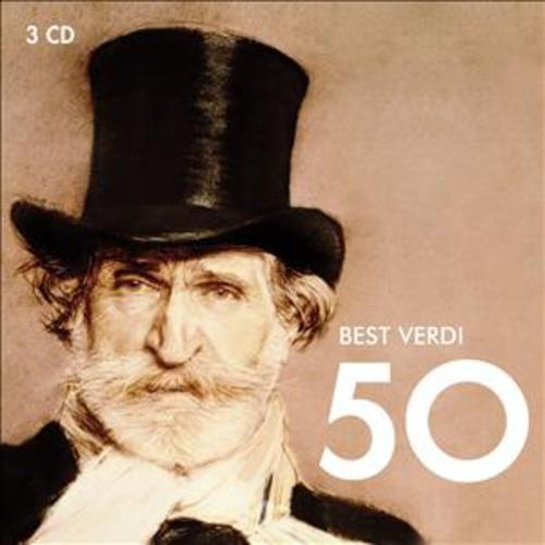 50 BEST VERDI: VARIOUS ARTISTS, CD (3 CD)