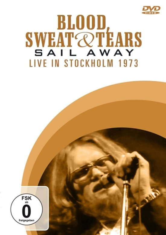 DVD BLOOD SWEAT & TEARS Sail Away - Live In Stockholm 1973