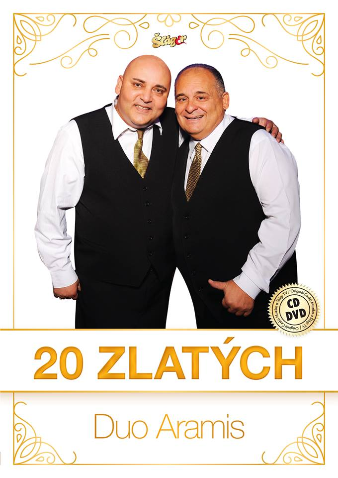 Duo Aramis- 20 zlatých 2CD+DVD