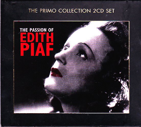 Edith Piaf - The Passion Of Edith Piaf 2CD