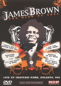 DVD James Brown - The King of Soul