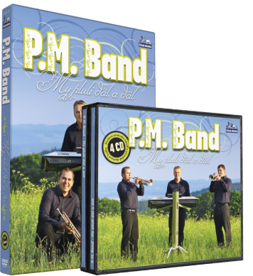 P.M. BAND - KOMPLET (4cd+1dvd)