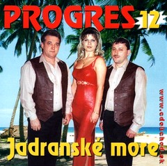 PROGRES 12 - Jadranské more CD
