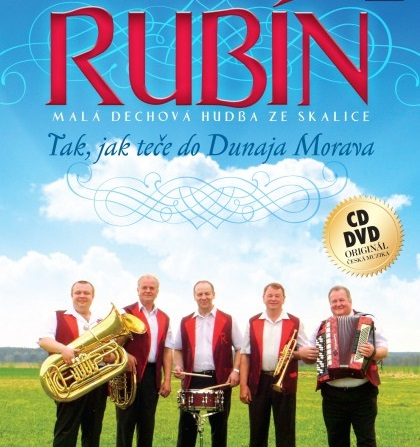 Rubín - Tak jak teče do Dunaja Morava 1 CD + 1 DVD