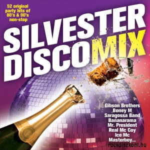 Silvester Discomix - 53 Original Party Hits of 80s & 90s - Non-Stop CD
