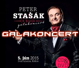 Peter Stašák: Galakoncert (CD+DVD)